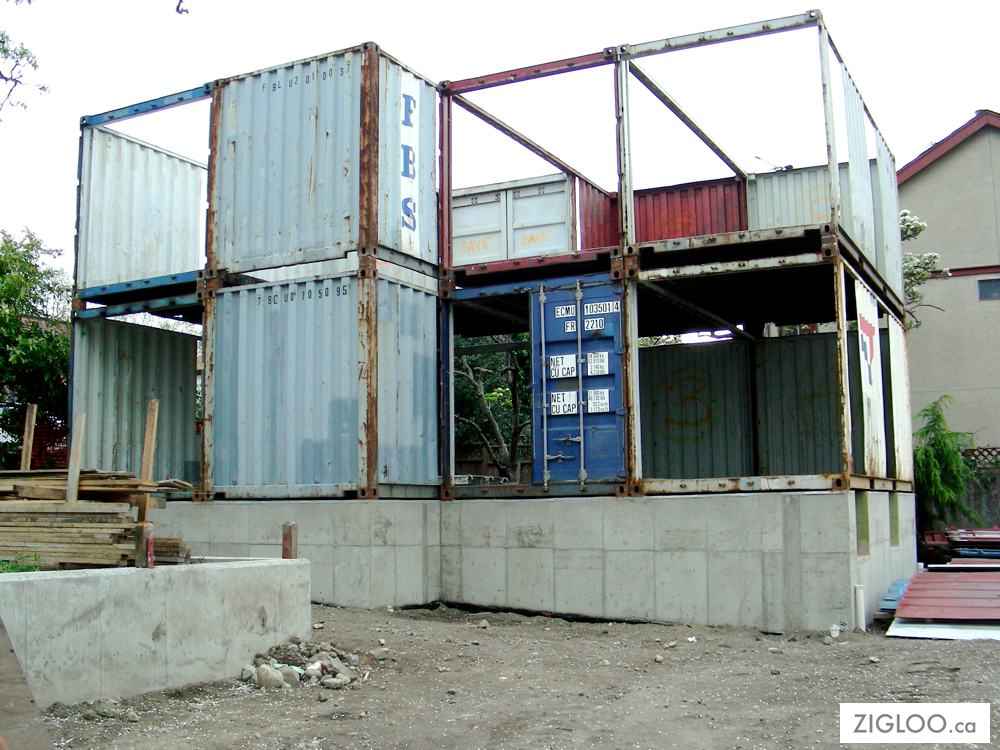 building codes container homes