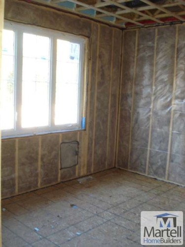 A great insulation job on one of our job sites.